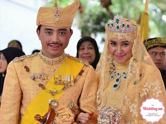 Принц Абдул Малик и 22-летняя Даянгку Болкиах,