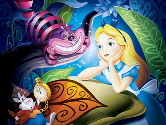 Алиса в стране чудес от загородного комплекса 'Бабушкин Сад'