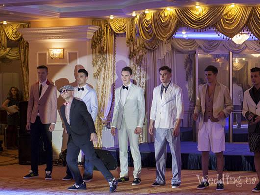 Показ коллекции мужского бренда I Dol Сержа Смолина, Свадебный бал