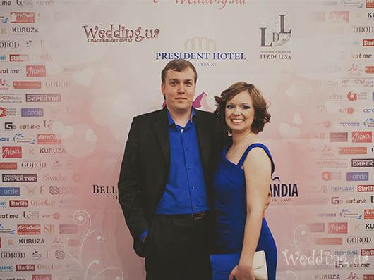 Руководитель Wedding.ua Виктория Шатохина и ее супруг Сергей Шатохин, Свадебный бал