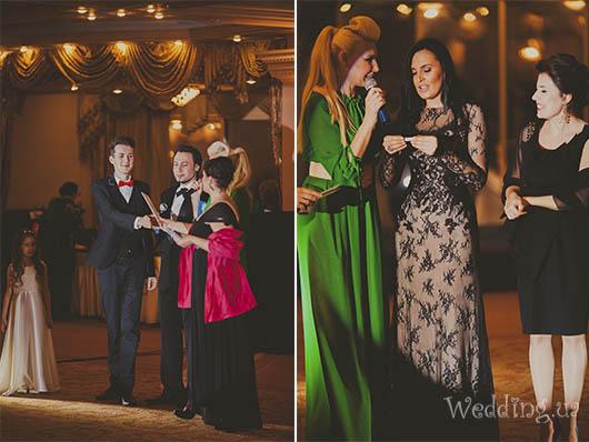 Вручение подарочных сертификатов гостям Бала открытия свадебного сезона, Свадебный бал