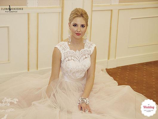 Лицо показа свадбеной коллекции Ева Бажен, Свадебный бал