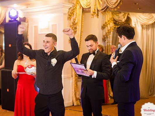 Розыгрыш подарков от партнеров и спонсоров Второго бала открытия свадебного сезона, Свадебный бал
