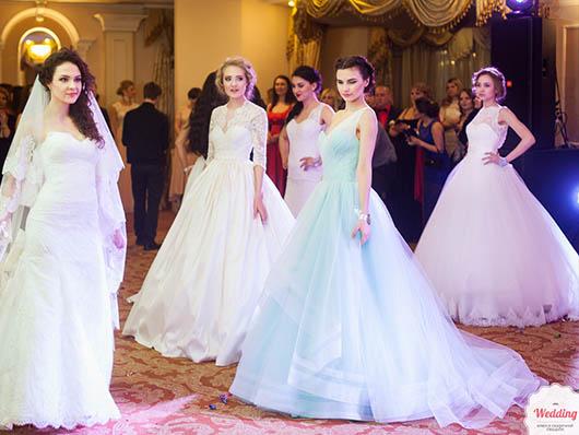 Показ свадебных платьев от салона 'Одри', Свадебный бал