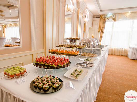 Угощения от President Hotel, Свадебный бал