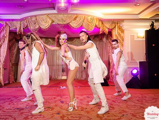 Выступление группы Rumbero's, Свадебный бал