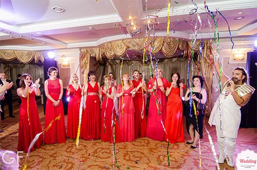 Команда Wedding.ua и Амадор Лопес, Свадебный бал