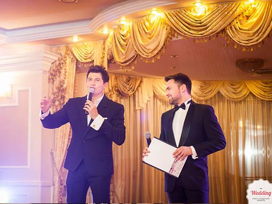 Ведущие вечера Тимур Мирошниченко и Андрей Джеджула, Свадебный бал