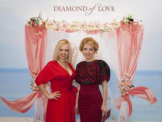 Презентация нового ювелирного бренда DIAMOND of LOVE, Свадебный бал