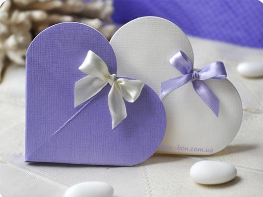 Бонбоньерка 'сердце'