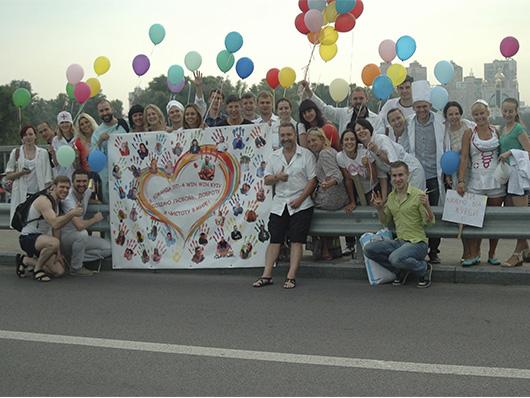 Волонтери Всеукраїнського суботника 'Чисте місто'