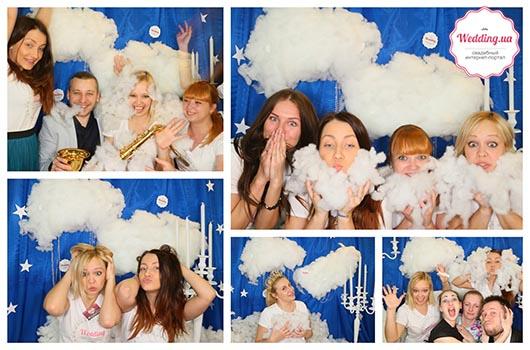 Selfi в облаках от Wedding.ua