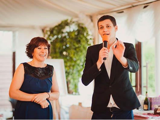 Роман Грищук на свадьбе