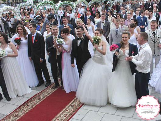 Самая масштабная выездная свадьба в Украине