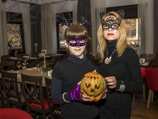 Детский Хеллоуин в ресторане Forrest Club