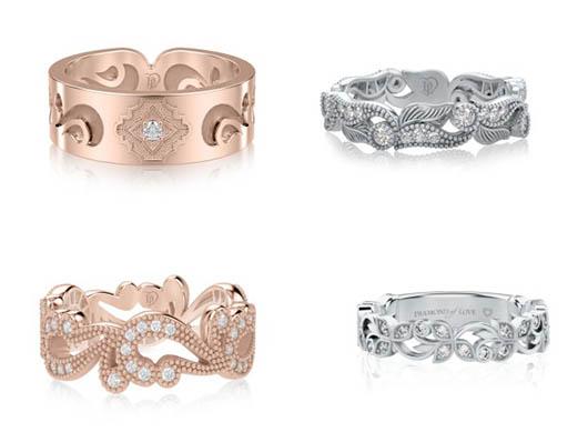 Кольца от бренда DIAMOND of LOVE
