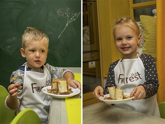 Банановые Десертики Детской Кулинарной Школы 'Forrest Club'