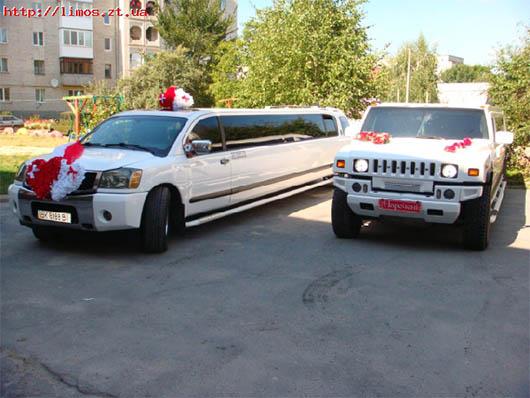 Лимузины компании 'Святковий кортеж'