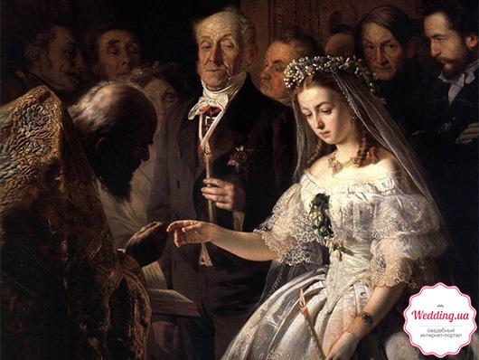 картина 'Неравный брак'
