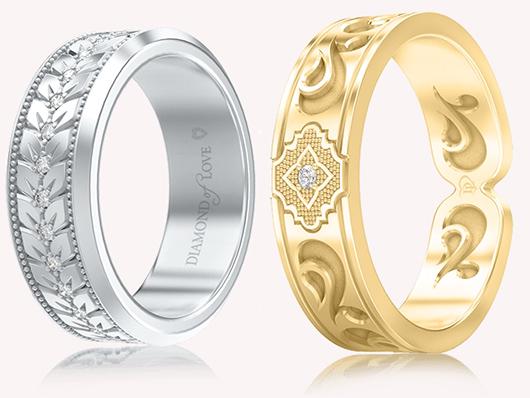 Обручальные кольца от diamond of love, DIAMOND OF LOVE