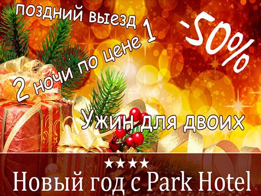 Пакет для двоих на Новый Год от 'Park Hotel'