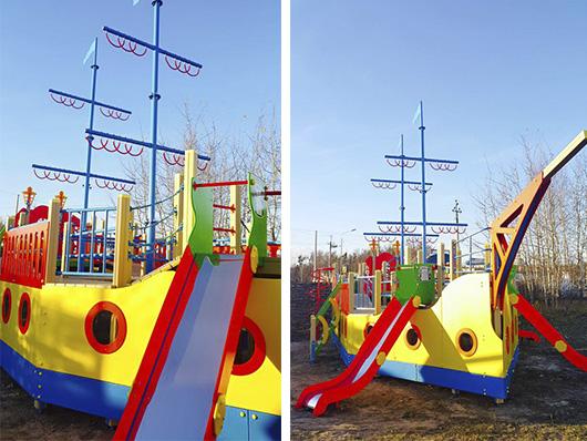 Детская площадка 'Корабль'