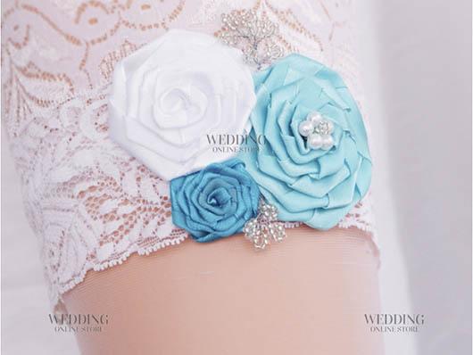 подвязка для невесты от интернет-магазина свадебных аксессуаров WEDSHOP.COM.UA