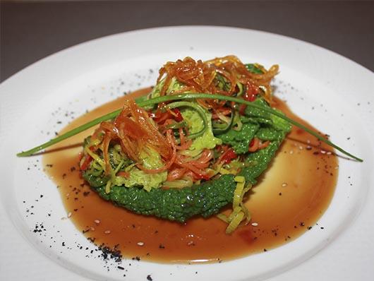 Савойская капуста с овощами