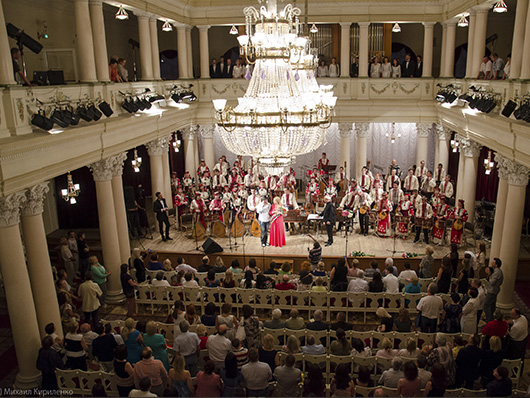 Концерт Наталии Шелепницкой 'Музыка объединяет нас'