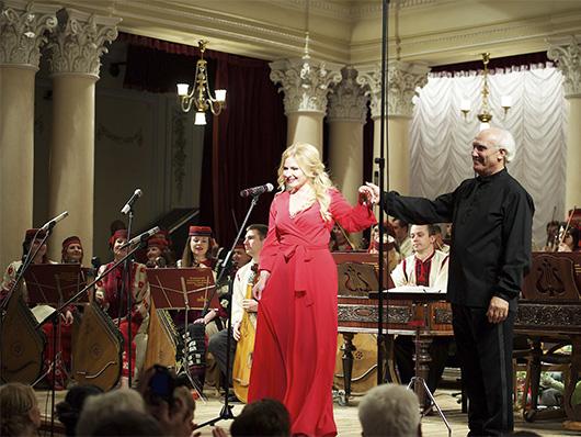 Наталия Шелепницкая и Виктор Гуцал
