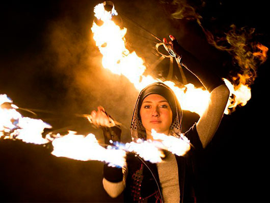 Ученица Школы огня SoulFire