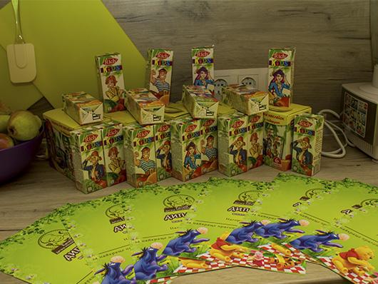 Соки для детей