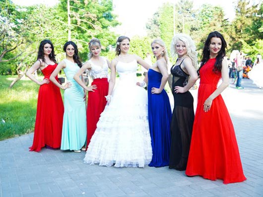 Участницы Фестиваля невест WIFE 2015