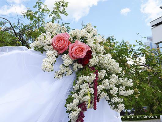 Свадебная выездная церемония в центре города!