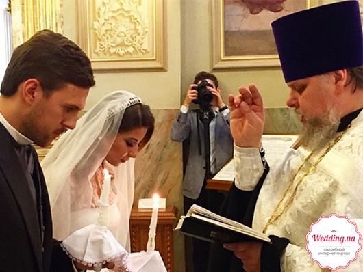 Венчание молодожен