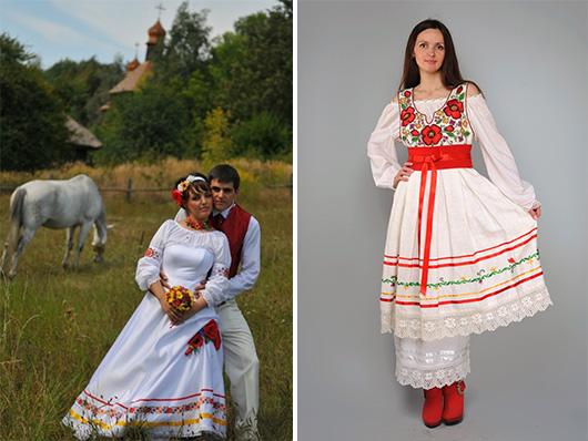 Свадебные платья в этно-стиле от Аллы Галецкой