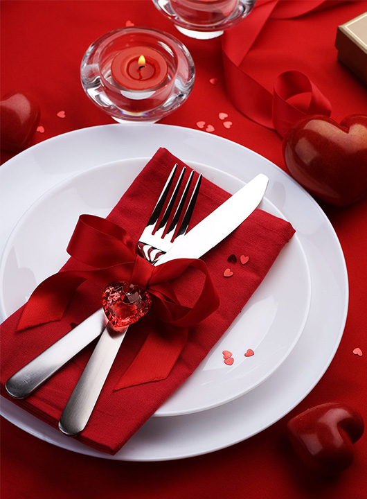 День Святого Валентина в ресторане LEO