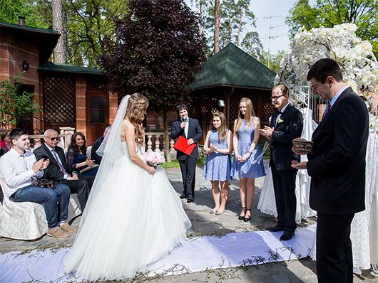 Свадебная церемония от ведущего Александра Высоцкого