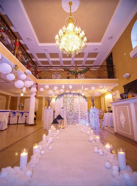Ресторан 'Ахтамар' предлагает скидки на зимние свадьбы