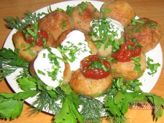 картошка со сметаной