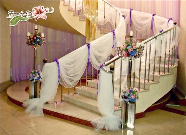 Украшения в дом на свадьбу фото