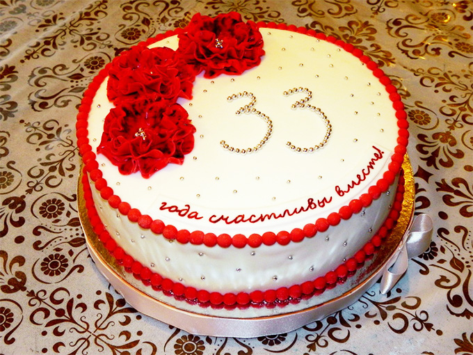 Поздравления родителям с 33 годовщиной свадьбы