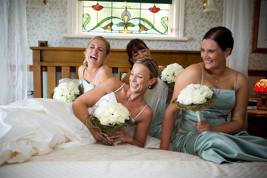 невеста и подруги невесты