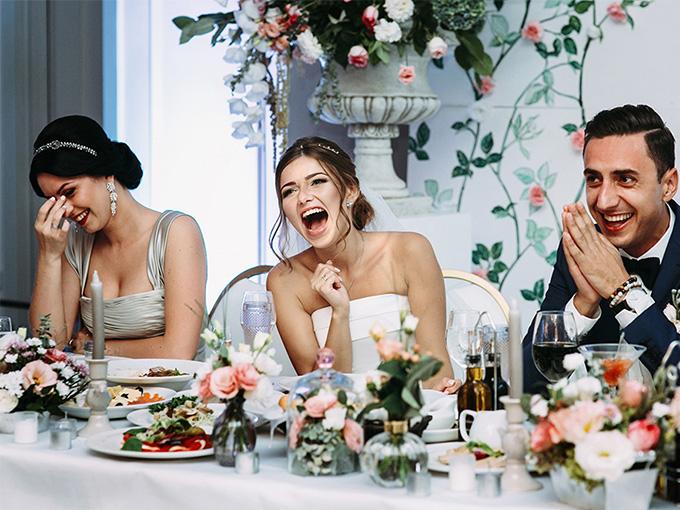 Юмористическое поздравление на свадьбу