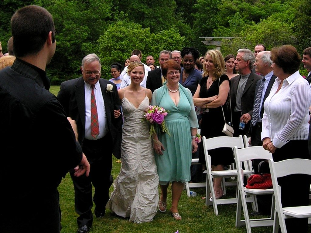 Невеста с родителями
