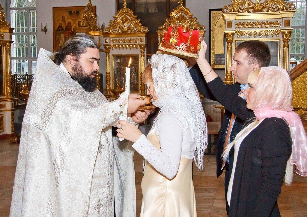 Для венчания в церкви свидетели