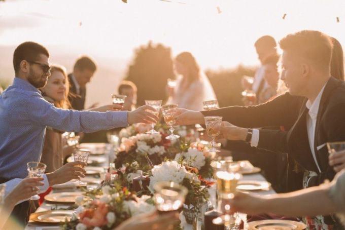 Первый свадебный тост