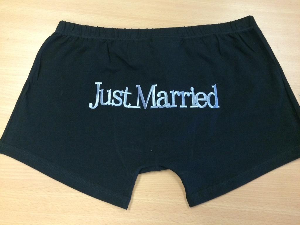 Свадебное белье для мужчин