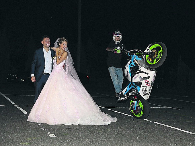 Каскадеры на свадьбу