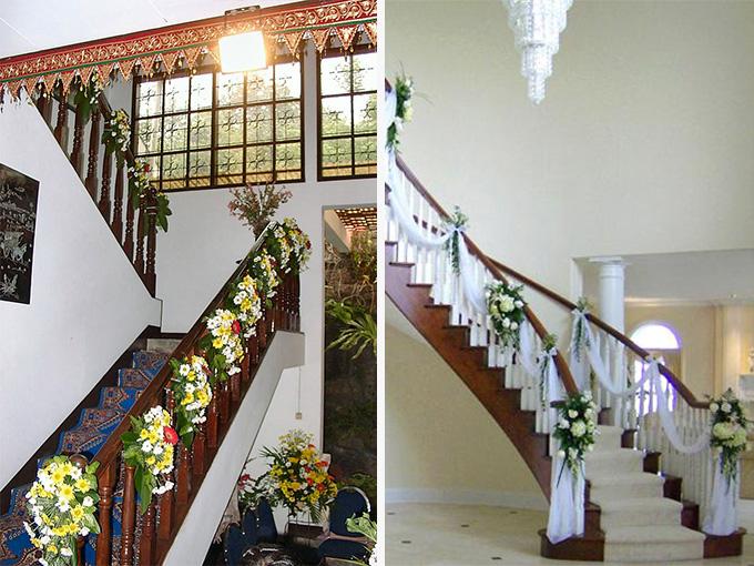 Украшение дома невесты на свадьбу